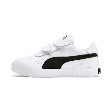 SG x Cali B+W Little Kids' Shoes, Puma White-Puma Black, small