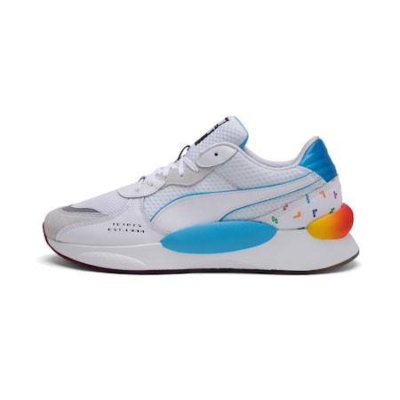 PUMA x TETRIS RS 9.8 Shoes, Puma White-Luminous Blue, small-IND
