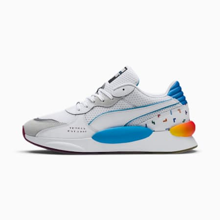 PUMA x TETRIS RS 9.8 Trainers, Puma White-Luminous Blue, small-SEA