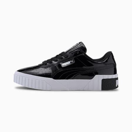 Basket Cali Patent Youth pour fille, Puma Black-Puma Black, small