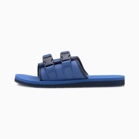 Wilo Lux Nylon Sandals, Palace Blue-Hot Coral-DD, small-SEA