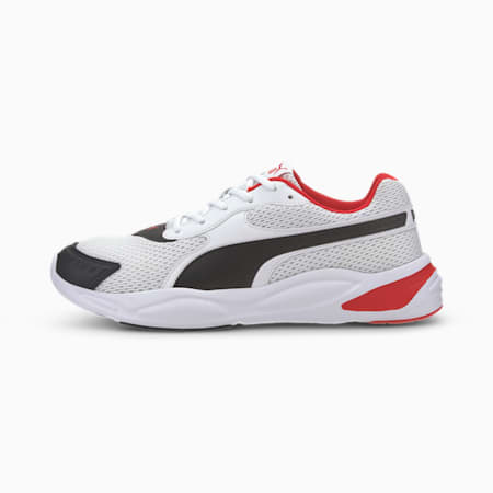 '90s Runner Sneakers, Puma White-Puma Black-Red, small-IND