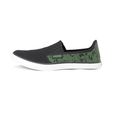 Auxious V2 IDP Sneakers, Puma Black-Garden Green, small-IND