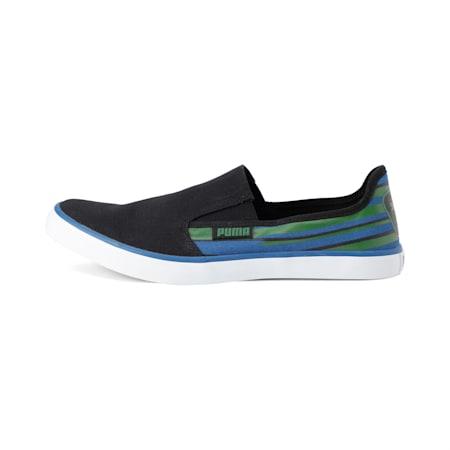 Campario 2 IDP Women's Sneakers, Black-GardenGreen-GalaxyBlue, small-IND