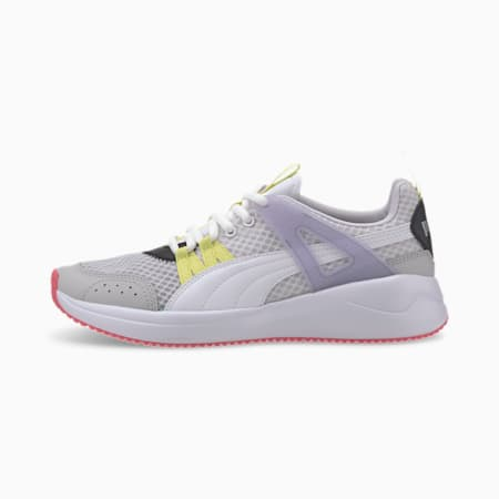 Nuage Run Cage Summer sportschoenen voor dames, Puma White-Purple Heather, small