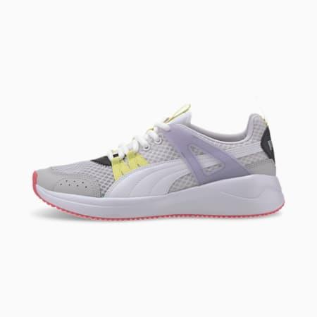 Nuage Run Cage Summer Women's Training Shoes, Puma White-Purple Heather, small