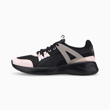 Nuage Run Cage Summer Women's Trainers, Puma Black-Rosewater-Rose Go, small