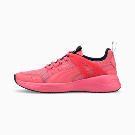 Nuage Run Cage Summer Women's Shoes, Sun Kissed Coral-Puma Black, small-IND