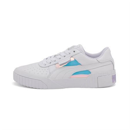 Cali Glow Women's Shoes, Puma White, small-IND