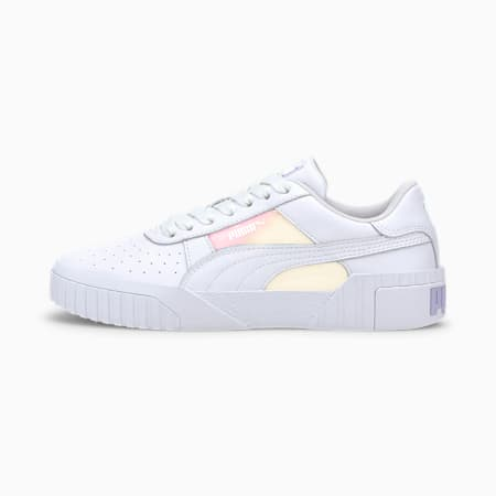 Cali Glow Women's Trainers, Puma White, small-SEA