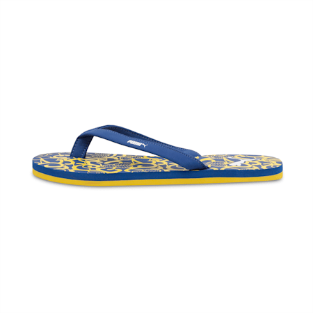 Ribbons v3 IDP Women's Flip flop, Galaxy Blue-Sulphur, small-IND