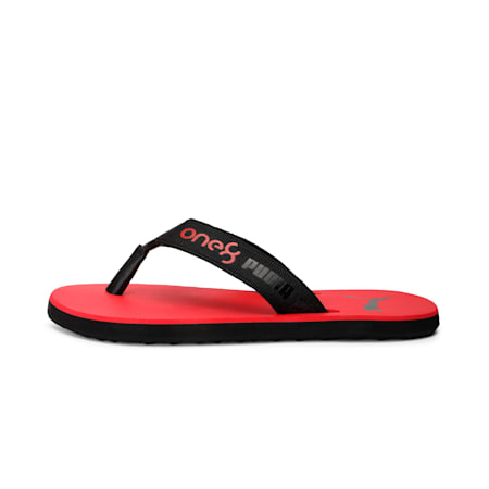 PUMA x one8 Virat Kohli Breeze GU Men's Sandals, High Risk Red-Puma Black, small-IND