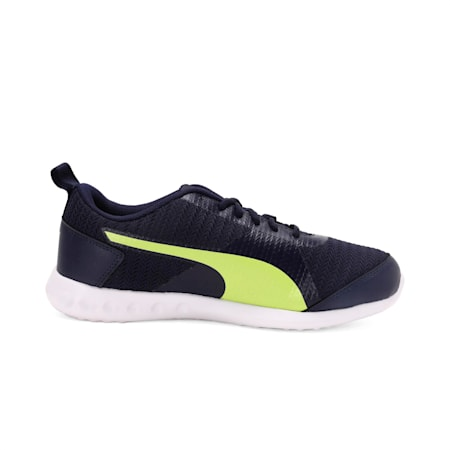 Magnum IDP Men's Running Shoe, Peacoat-Limepunch, small-IND