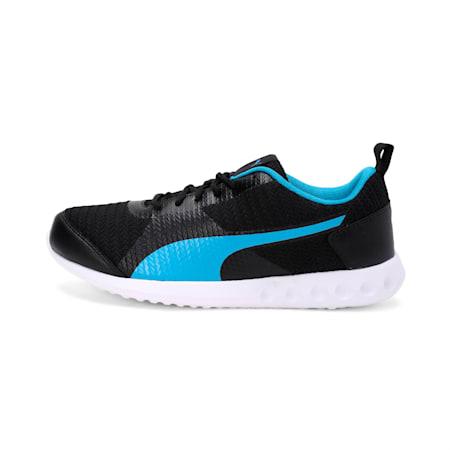 Magnum IDP Men's Running Shoe, Puma Black-AZURE BLUE, small-IND