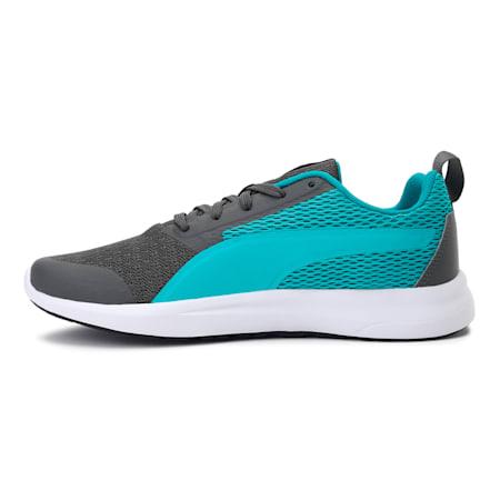 Max IDP Women's Running Shoes, Dark Shadow-Viridian Green, small-IND
