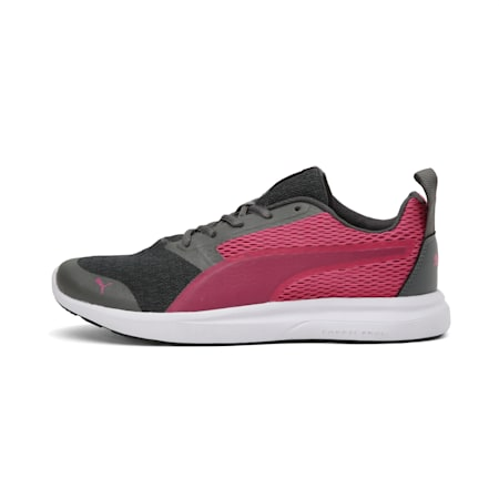 Max IDP Women's Running Shoes, Dark Shadow-BRIGHT ROSE, small-IND