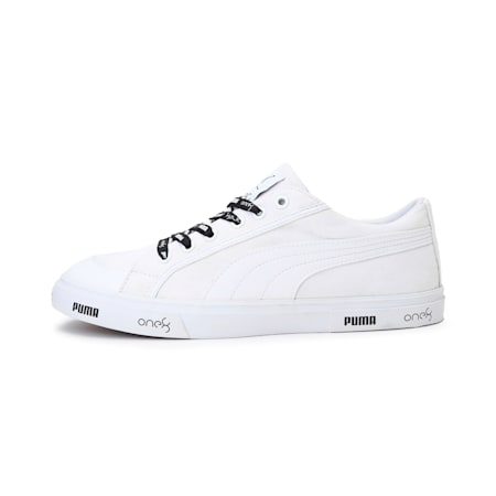 PUMA x one8 V2 IDP Men's Sneakers, Puma Black-Puma White, small-IND