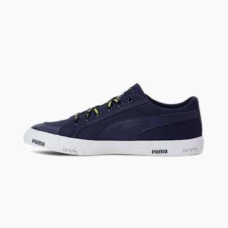 PUMA x one8 V2 IDP Men's Sneakers, Peacoat-Limepunch, small-IND
