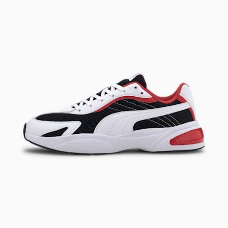 Ascend Lite Sneakers, Puma Black-Puma White-Red, small-IND