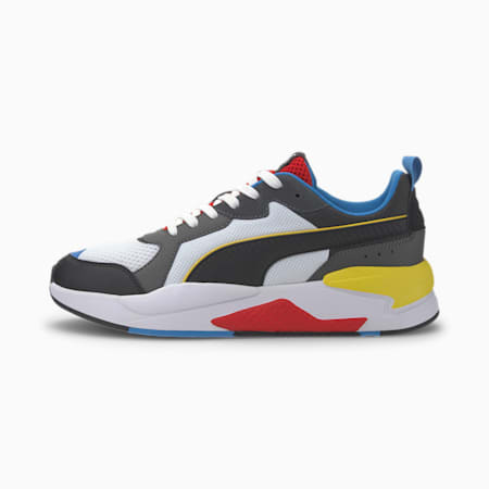 X-Ray Sneakers, White-Blk-Dk Shadow-Red-Blue, small-IND