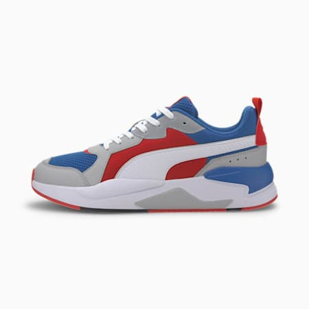 X-RAY Men's Sneakers, Royal-White-Red-High Rise-, small