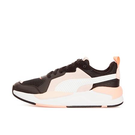 X-Ray Trainers, Puma Black-Puma White-Cloud Pink-Apricot Blush, small-GBR