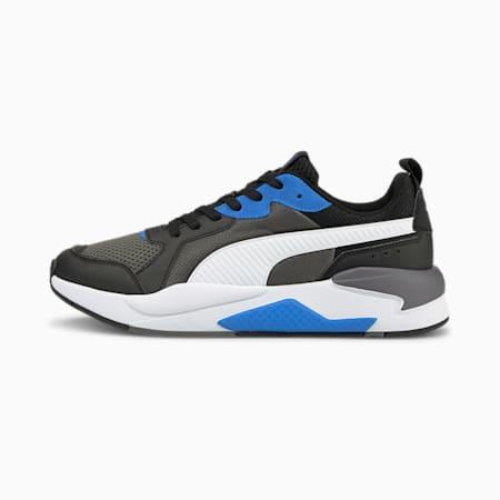 X-Ray Unisex Sneakers, CASTLEROCK-Puma White-Puma Black-Nebulas Blue, small-IND