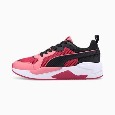 X-Ray Glitch Trainers, BRIGHT ROSE-Bubblegum-Black, small