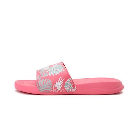 Popcat 20 Summer Women's Slides, Bubblegum-Puma Silver, small-IND