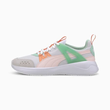 Nuage Run Cage Women's Sneakers, PW-Rosewater-Mist Green, small