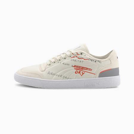 Zapatos deportivos PUMA x CENTRAL SAINT MARTINS Ralph Sampson para hombre, Whisper White, pequeño