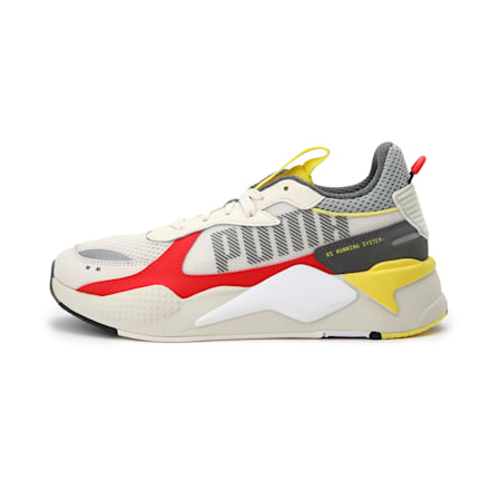RS-X Bold Sneakers, Whisper White-High Risk Red, small-IND