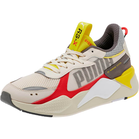 RS-X Bold Trainers, Whisper White-High Risk Red, small-SEA