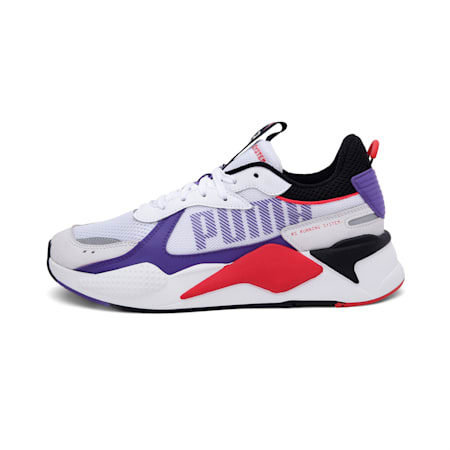 RS-X Bold Sneakers, Puma White-Purple Corallites, small-IND