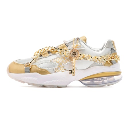 PUMA x ONE PIECE CELL VENOM Trainers, Puma Silver-Puma Team Gold, small-SEA