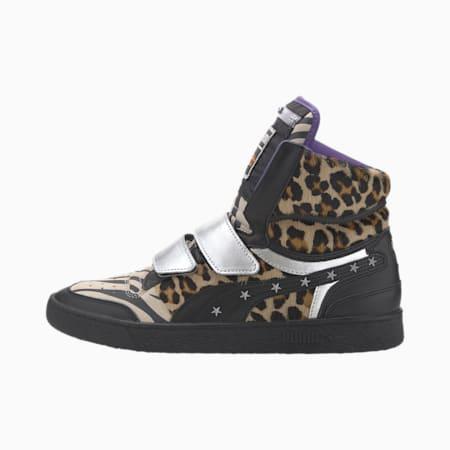 PUMA x PAUL STANLEY Ralph Sampson Mid Men's Sneakers, Puma Black-Puma Black, small