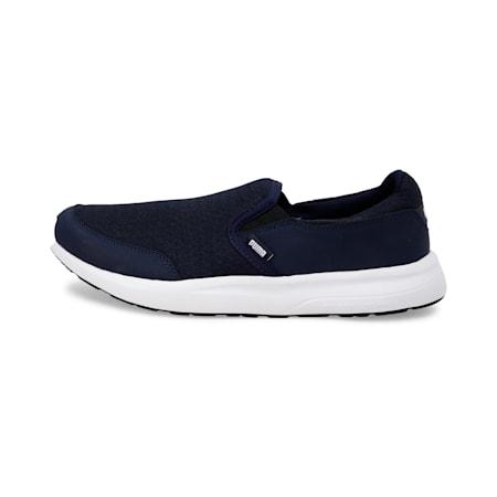 Modern Slip on IDP SoftFoam Walking Shoes, Peacoat-Puma White, small-IND