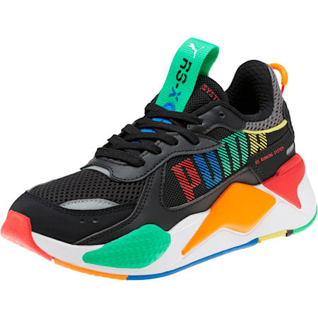 RS-X Bold Sneakers JR, P Black-ANDEAN TOUCAN-Orange, small