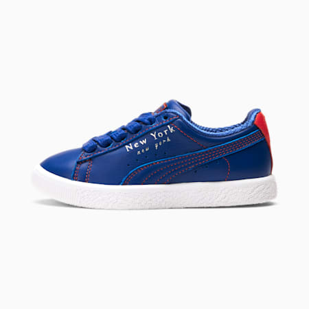 Clyde NYC Flagship Little Kids' Shoes, Surf The Web-Cherry Tomato, small