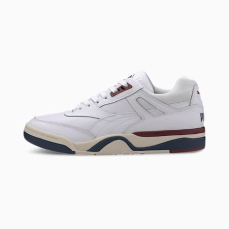 Palace Guard Core Men's Sneakers, PWht-DkDnm-WhsprWt-BrntRuset, small