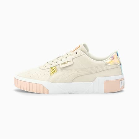 Cali Suede Snake Women's Sneakers, Marshmallow-Rosewater, small