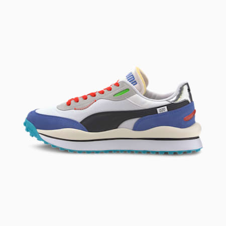 Style Rider Ride On Trainers, P.White-Dazz Blue-High Rise, small-SEA