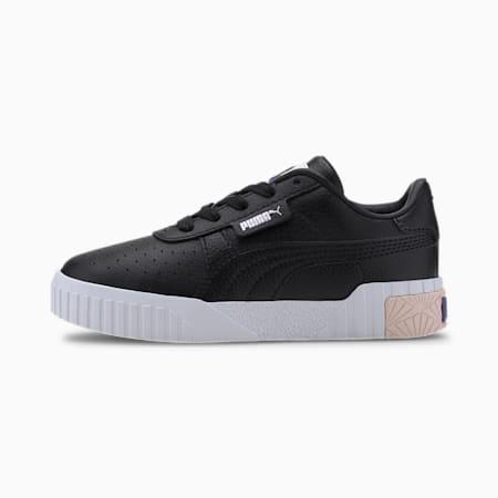Cali Kids Mädchen Sneaker, PumaBlack-Rosewater-Purple, small