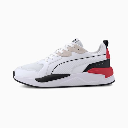 X-RAY Game Men's Sneakers, White-Black-Red-Gray Violet, small