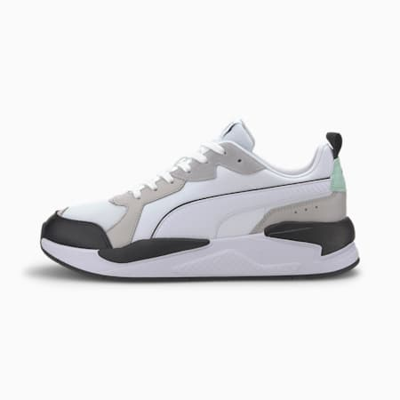 X-Ray Game Trainers, White-Gray V-M Green-Black, small