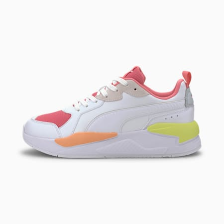X-Ray Game Sneakers, White-Bubblegum-Plein Air-Ca, small-IND