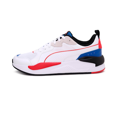 X-Ray Game Sneakers, White-White-Blue-Red-Black, small-IND