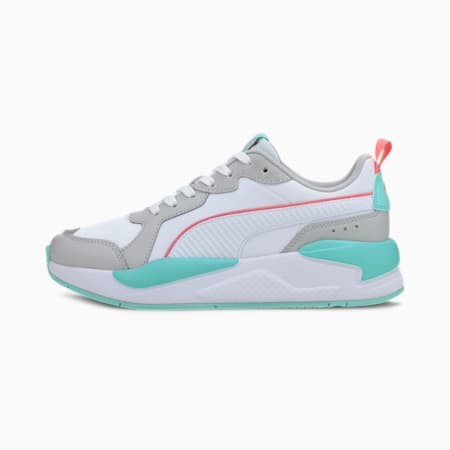 X-Ray Game Sneakers, White-White-Gray-Blue-Rose, small-IND