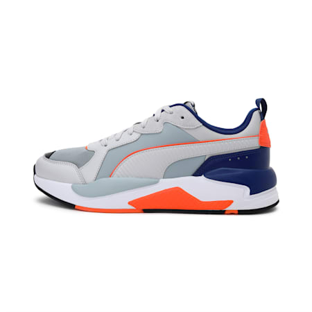 X-Ray Game Unisex Shoes, Gray-Gray-Quarry-Blue-Carrot, small-IND