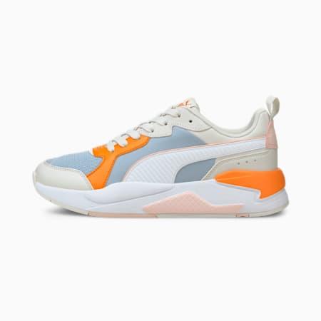 X-Ray Game Unisex Shoes, Blue Fog-Puma White-Nimbus Cloud-Vibrant Orange-Lotus, small-IND